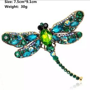 Dragonfly Brooches 1000003/50